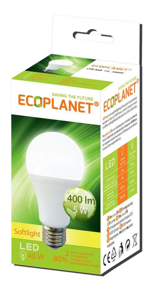 bec LED A60 230V 5W 3000K Ecoplanet_preview