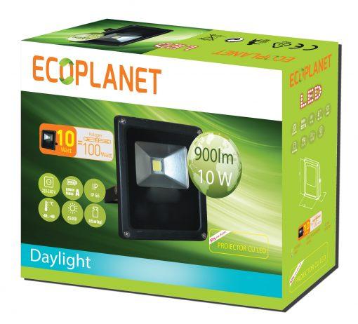Proiector cu LED 10W lumina rece 6400K Ecoplanet