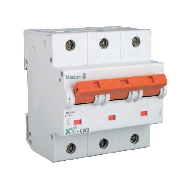 MOELLER-Intrerupator automat 3Poli 100A 10KA C100/3, cod: PLHT-C100/3