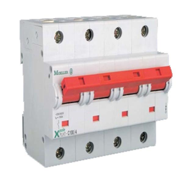 MOELLER-Intrerupator automat 4 Poli 80A PLHT-C80/4