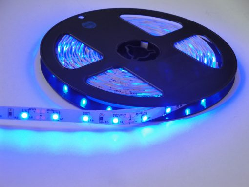 Banda LED 4.8W/M interior Albastru TOTAL GREEN