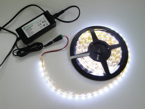 Banda LED de Exterior 4.8W/M Alb TOTAL GREEN