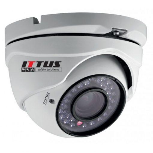 Camera Supraveghere DOME cu infrarosu, lentila vari-focala, analogica