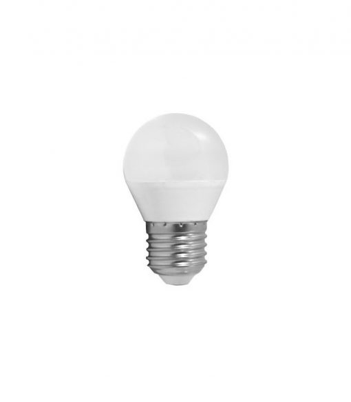 Ecoplanet - Bec LED sferic E27 7W lumina rece 6500K