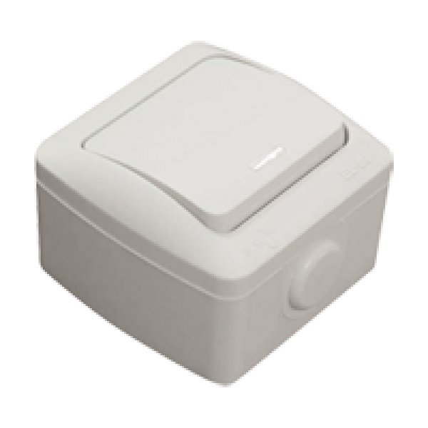 EVA-Intrerupator cap scara cu led (IP54)