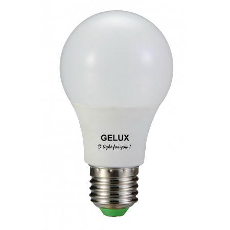 Gelux - Bec LED E27 12W lumina rece 6000K