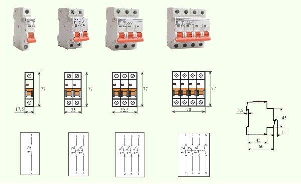 Intrerupator Automat MCB-COMTEC HBC-10kA 125/4/C