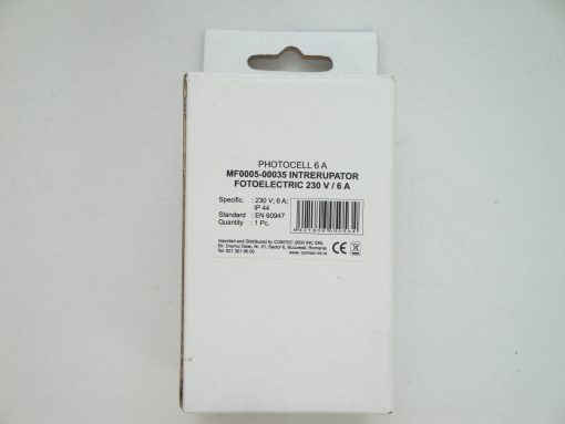 Intrerupator Fotoelectric 6A