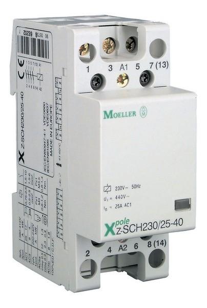 MOELLER-Contactor modular 25A 230V 2ND, cod: Z-SCH230/1/25-20