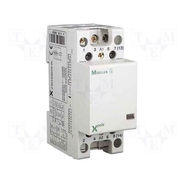 MOELLER-Contactor modular 25A 230V 4ND, cod: Z-SCH230/25-40