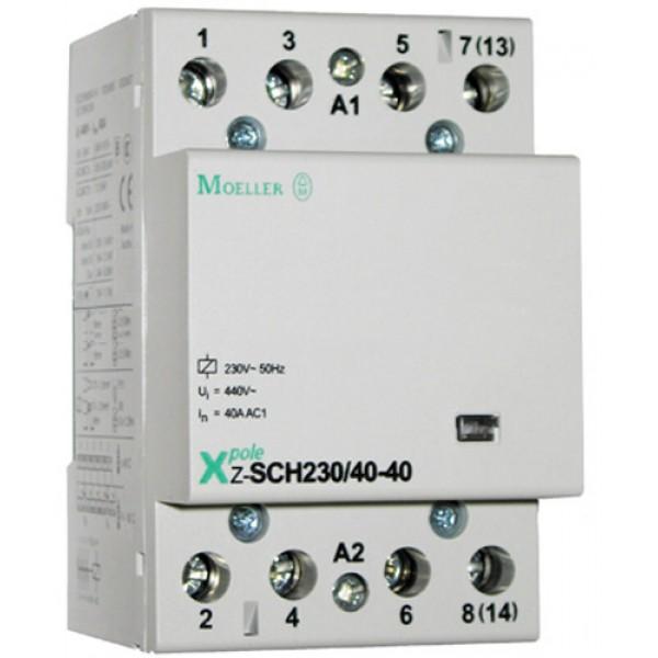 MOELLER-Contactor modular 40A 230V 4ND , cod: Z-SCH230/40-40