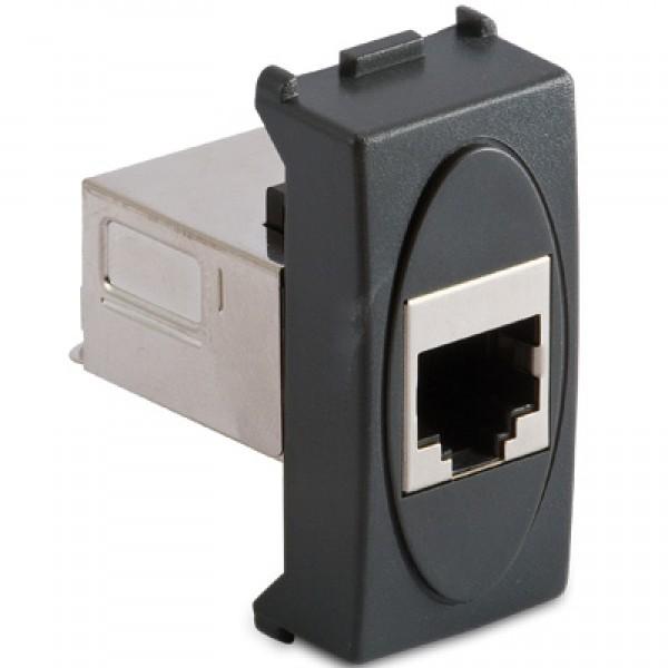 MS.MODO FUME(31221)-Priza date FTP Cat.6 RJ45 8/8 contacte, ecranata