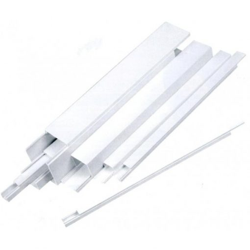 Novelite-Canal cablu cu banda adeziva (12mm x 12mm)