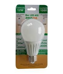 Odo - Bec Led Odosun E27 12W lumina rece 6400K