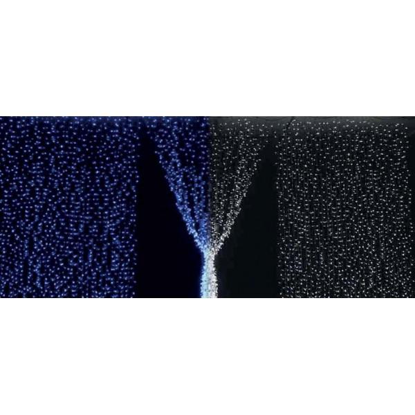 TG-3110.4423-Perdea de lumina IP44, (720 LED, 2.5 x 3m), culoare: ALBASTRU