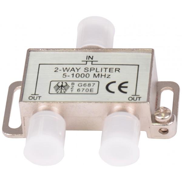 TG-Spliter profesional CATV 2 MODULE, 5-1000Mhz, cod: OC2572