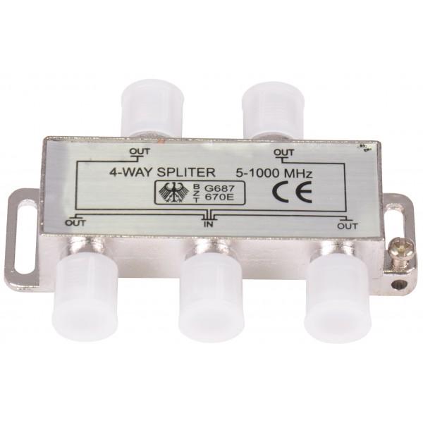 TG-Spliter profesional CATV 4 MODULE, 5-1000Mhz, cod: OC2574