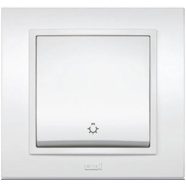 ZENA ALB-Intrerupator control iluminat scara