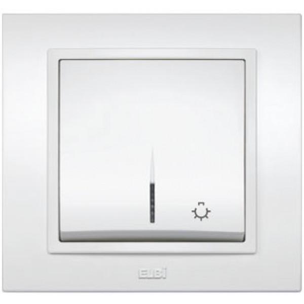ZENA ALB-Intrerupator control iluminat scara cu led