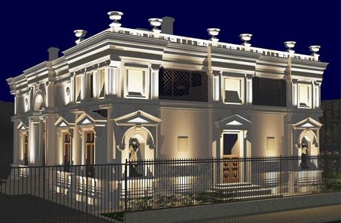 proiect luminotehnic si iluminat arhitectural