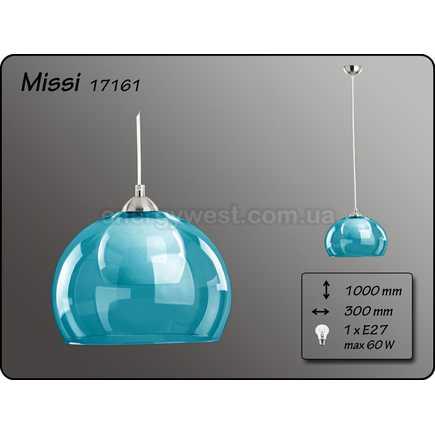 Pendul Missi BLue 1 Bec E27
