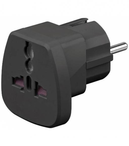 Goobay-Adaptor-univeral-la-CEE-7-7-Schuko-negru-250V-AC-16A