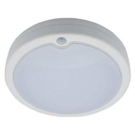 Plafoniera cu senzor si LED+ acumulator SMD integrat Comtec 12W, alb