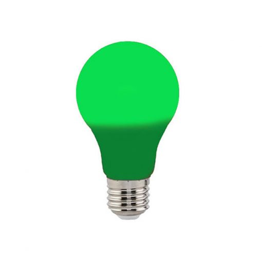 Bec led color SPECTRA 3W 230V E27 Verde Horoz