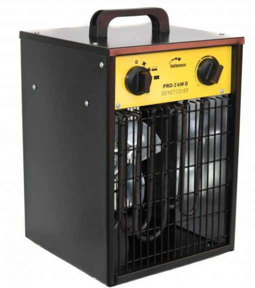 Aeroterma electrica INTENSIV, 230V PRO 3kW D