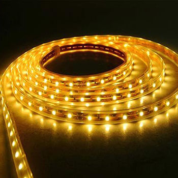 BANDA LED HL541L NIL 35X28 SMD 4.8W/M 12V DC IP20 GALBEN HOROZ