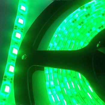 BANDA LED HL541L NIL 35X28 SMD 4.8W/M 12V DC IP20 VERDE HOROZ
