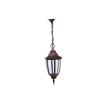 LAMPA DE GRADINA HL277 075-013-0003 LEYLAK-3 60W E27 ROSU DE CUPRU Horoz