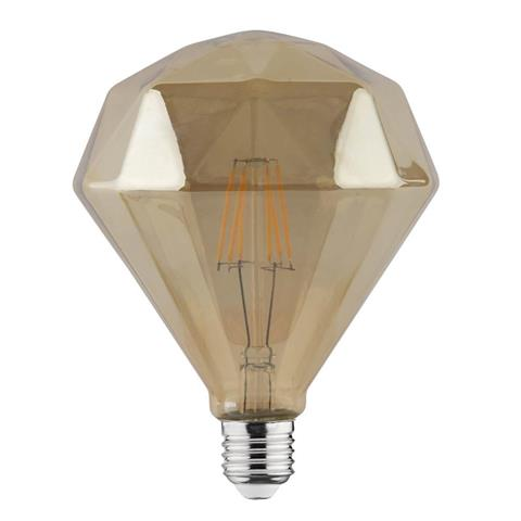 Lampa cu incandescență 6W E27 FILAMENT RUSTIC DIAMOND-6