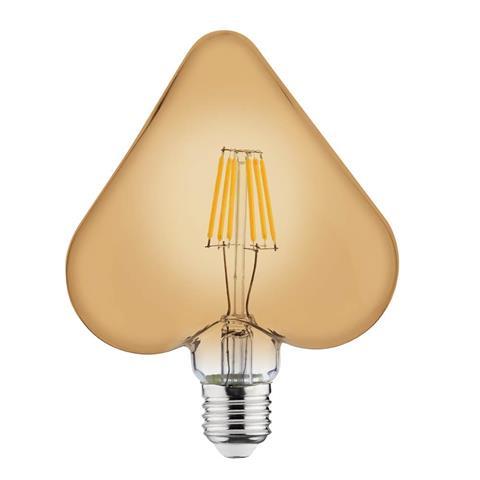Lampa cu incandescență 6W E27 FILAMENT RUSTIC HEART-6