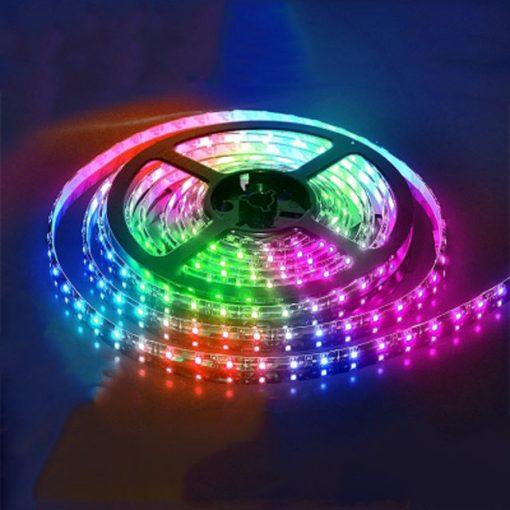 BANDA LED RGB NIL 35X28 SMD 4.8W/M 12V DC IP20 HOROZ