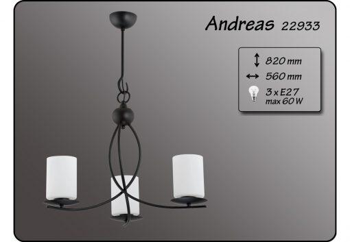 lustra Andreas cu 3 Brate ALFA Polonia ANDREAS 22933