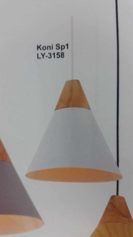 pendul koni alb KL 3158