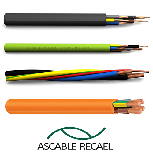cablu 4x2.5mm ascable