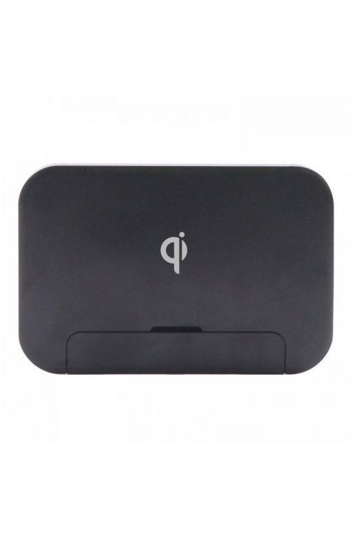 Incarcator universal wireless Qi Freedy hibrid negru