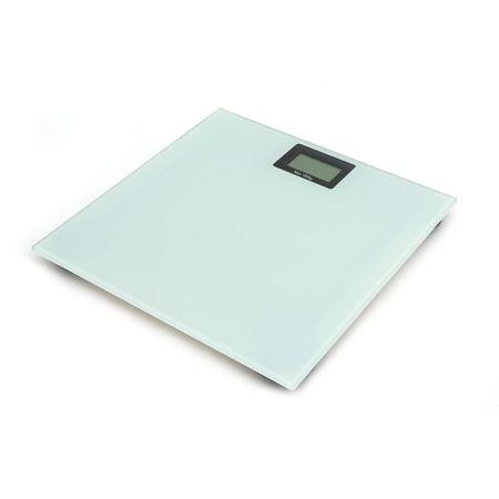 Cantar Omega cu ecran LCD,180 kg, alb, proelectrice