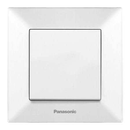 Intrerupator Simplu Panasonic Arkedia, Alb