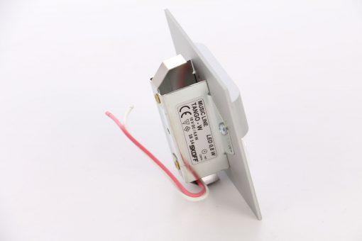 Spot LED alb incastrat Tango Skoff, 0.80W, aluminiu