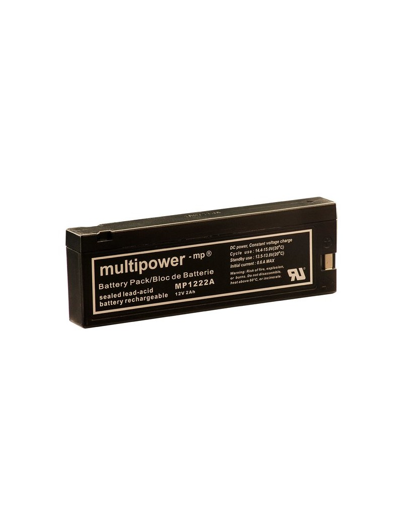 Acumulator camera Multipower MP1222A 12V 2000mAh
