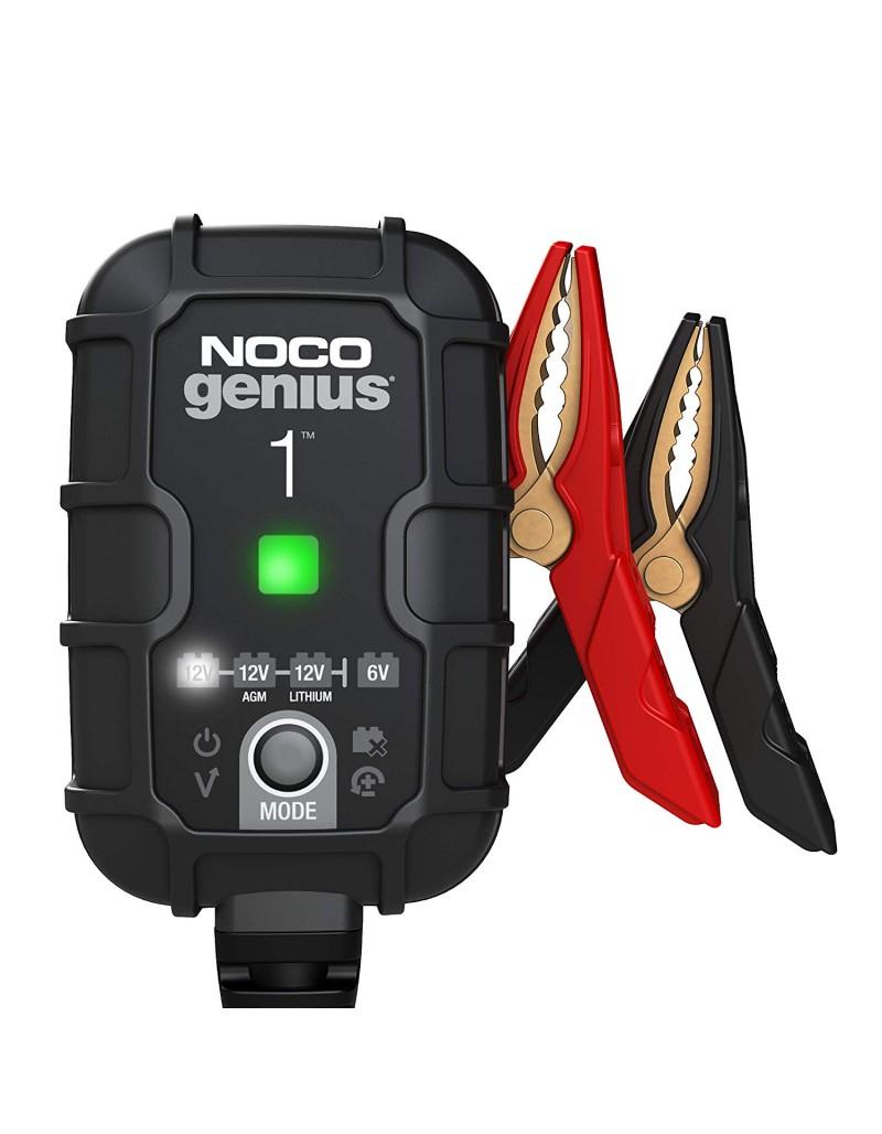 Redresor Noco Genius 1 auto moto 6V / 12V 1A pentru acumulatori maxim 30A Plumb-Acid AGM GEL VRLA Litiu